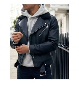 #MenWithxHM Faux leather jacket