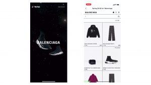Balenciaga TikTok Ad Example